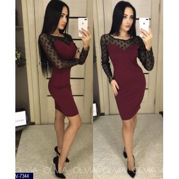 Платье V-7344