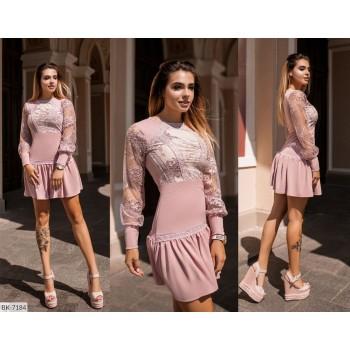Коктейльное платье BK-7184