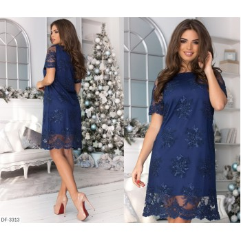 Платье DF-3313
