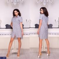 Платье-рубашка AX-8009