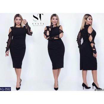 Платье AQ-0592