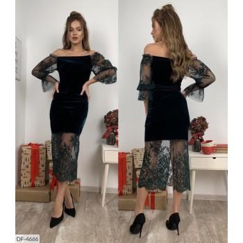 Платье DF-4666