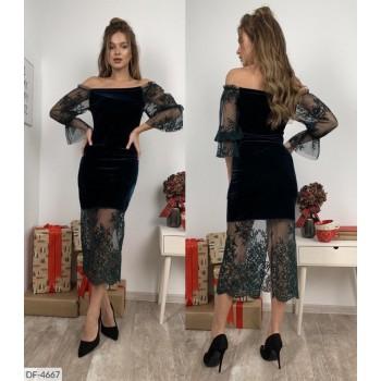Платье DF-4667