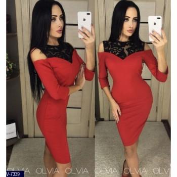 Платье V-7341