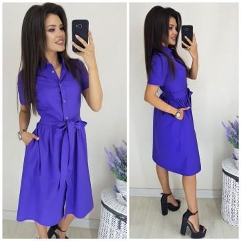Платье-рубашка Аэлита